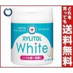 【送料無料】ロッテ キシリトールホワイト チアフルソーダ ファミリーボトル 143g×6個入