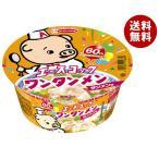 【送料無料】エースコック ワンタンメンどんぶり タンメン味 80g×12個入