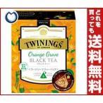 【送料無料】【2ケースセット】片岡物産 トワイニング オレンジグローブブラックティ? 2.5g×8袋×12(2×6)個入×(2ケース)