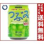 送料無料 サンガリア つぶみ 白ぶどう 280g缶×24本入