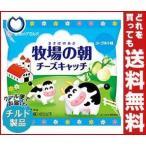 【送料無料】【チルド(冷蔵)商品】雪印メグミルク 牧場の朝 チーズキャッチ ヨーグルト味 40g×10袋入