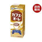 【送料無料】【2ケースセット】雪印メグミルク カフェ・オ・レ 200ml紙パック×24(12×2)本入×(2ケース)