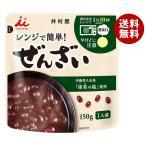 【送料無料】井村屋 レンジで簡単 ぜんざい 150g×30袋入