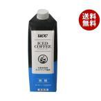 送料無料 【2ケースセット】UCC アイスコーヒー 業務用 無糖 1000ml紙パック×12本入×(2ケース)