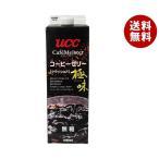 【送料無料】UCC 極味クラッシュドコーヒーゼリー 1000ml紙パック×12本入
