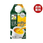 送料無料 【2ケースセット】キッコーマン 豆乳仕立てのかぼちゃスープ 500ml紙パック×12本入×(2ケース)