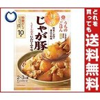 【送料無料】キッコーマン うちのごはん 煮込み料理の素 じゃが豚 にんにくみそ味 107g×10袋入