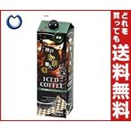 【送料無料】【2ケースセット】日米珈琲 神戸珈琲職人 リキッドアイスコーヒー 微糖 1000ml紙パック×12本入×(2ケース)