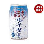 【送料無料】JAビバレッジ佐賀 天然水仕立て サイダー 350ml缶×24本入