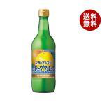 【送料無料】ポッカサッポロ お酒にプラス グレープフルーツ 540ml瓶×12(6×2)本入
