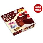 【送料無料】【2ケースセット】森永製菓 チョコレートケーキセット 210g×12(6×2)個入×(2ケース)
