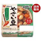 送料無料 【2ケースセット】フジッコ おまめさん 豆小鉢 やさい豆 65g×2パック×12個入×(2ケース)