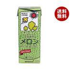 【送料無料】【2ケースセット】キッコーマン 豆乳飲料 メロン 200ml紙パック×18本入×(2ケース)