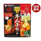 送料無料 【2ケースセット】ミツカン キムチ鍋の素 38g×10箱入×(2ケース)