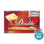 送料無料 【2ケースセット】【チルド(冷蔵)商品】森永乳業 フィラデルフィア The Double(ザ・ダブル)6P クリームチーズ&チェダーチーズ 90g×12個入×(2ケース)