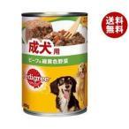 【送料無料】マースジャパン ペディグリー 成犬用 ビーフ&緑黄色野菜 400g×24個入