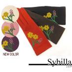 シビラ Sybilla レディース 冬手袋(花とつぼみ) メール便100円 ネコポス250円対応 クーポン割引 あすつく