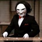 ショッピング ハロウィン お面 マスク 仮面 ジグソウテーマ マスク 怖いお面 仮装コスプレ パーティー 手作り Halloween