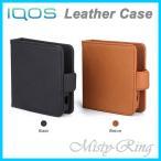 iQOS Leather Case アイコス専用 ケース 手帳型 シンプル レザー カバー 送料無料