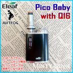 PloomTech �ߴ� Eleaf iStick Pico Baby with JUSTFOG Q16 Kit �ץ롼��ƥå� �б� VAPE �������������å� �Żҥ��Х� �������å� ����