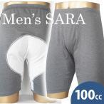 男性用尿漏れパンツ  失禁対策に  メンズサラ  前開き 100CC  M/L/LL おむつ 失禁パンツ 尿漏れパンツ  mjm600 日本製