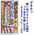 がまかつ 喰い渋りタチウオ仕掛II つらぬき仕様(NSB)TU-168【ネコポス可】(42543 タチウオ 太刀魚 ウキ釣り )
