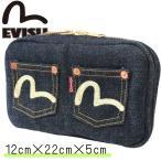 EVISU エヴィス ポーチ ラウンドジップポーチ ラウンドジップ 小物 鞄