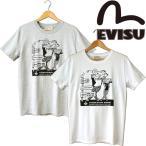 EVISU エヴィス EVISU&GOLF S/S Tee 半袖Tシャツ アメカジ アメコミ 山根 限定生産 ゴルフ made in JAPAN 日本製
