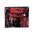ディオールオム 財布 ブラック+レッド 2DSBH027XRQ H03E Dior Homme