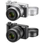 Nikon1 J5 ダブルズームレンズキット『〜品薄納期1か月程度』[8GB microSDHC & カメラバッグ付]