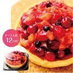 タルト ぎゅッと果実 4種のベリータルト(4号) ケーキ フルーツ 厳選果実 果肉ぎっしり カスタード スイーツ ギフト プレゼント 贈り物 手土産 冷凍