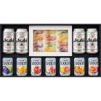 三越 お歳暮 御歳暮 ギフト 飲料 ビール お酒 B001953 〈アサヒ〉スーパードライ・〈カゴメ〉ジュース・〈彩果の宝石〉フルーツゼリー詰合せ