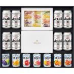 三越 お歳暮 御歳暮 ギフト 飲料 ビール お酒 B001963 〈アサヒ〉スーパードライ・〈カゴメ〉ジュース・〈彩果の宝石〉フルーツゼリー詰合せ