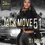 最新 ヒップホップ R&B DJカズ ロサンゼルス 洋楽CD MixCD Jack Move 51 -The Greatest Spring Hits 2020- / DJ Couz[M便 2/12]