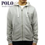 ポロラルフローレン POLO RALPH LAUREN 正規品 メンズ ジップアップパーカー Classic Fleece Hoodie グレー