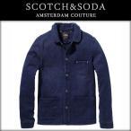 スコッチアンドソーダ SCOTCH&SODA メンズ アウタージャケット French workwear jacket in vintage dessins 30306 51