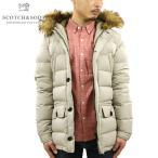 スコッチアンドソーダ SCOTCH&SODA メンズ アウタージャケット Long hooded jacket with fake fur at hood edge 10014 08