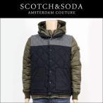 スコッチアンドソーダ SCOTCH&SODA 正規販売店 メンズ アウタージャケット DOWN JACKET WITH FIXED BODYWARMER 10037 65