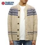 フランクリンマーシャル FRANKLIN&MARSHALL 正規販売店 メンズ セーター CREW NECK SWEATER ECRU KNMAL069AM 6021