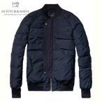 スコッチアンドソーダ SCOTCH&SODA 正規販売店 メンズ アウタージャケット Bomber jacket in memory nylon quality 101376 02