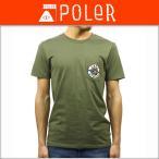 ポーラー POLER 正規販売店 メンズ 半袖Tシャツ CAMP TEE 711122-OLV OLIVE