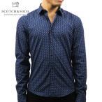 スコッチアンドソーダ SCOTCH&SODA 正規販売店 メンズ 長袖ドレスシャツ CLASSIC POPLIN SHIRT 136301 0221 COMBO E
