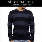 スコッチアンドソーダ SCOTCH&SODA 正規販売店 メンズ セーター COTTON-LINEN PULLOVER HOME ALONE 134345 17 COMBO A