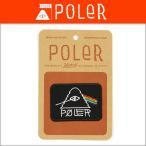 ポーラー POLER 正規販売店 ワッペン PSYCHEDELIC PATCH 33810001-BLK BLACK