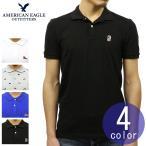 アメリカンイーグル ポロシャツ 正規品 AMERICAN EAGLE 半袖ポロシャツ AEO FLEX