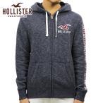 ショッピングホリスター ホリスター HOLLISTER 正規品 メンズ ジップアップパーカー Applique Logo Full-Zip Hoodie 322-226-0128-203