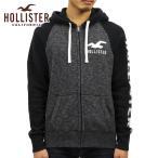 ショッピングホリスター ホリスター HOLLISTER 正規品 メンズ ジップアップパーカー Applique Logo Full-Zip Hoodie 322-226-0128-902