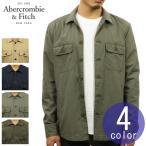 アバクロ メンズ Abercrombie&Fitch 正規品 アウター ミリタリーシャツジャケット MILITARY SHIRT JACKET