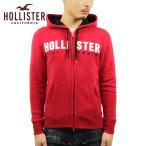 ホリスター パーカー メンズ 正規品 HOLLISTER ジップアップパーカー ロゴ Embroidered Logo Full-Zip Hoodie 322-226-0227-500