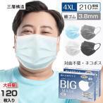 超大きめ マスク 不織布超ビッグサイズマスク 210mm100枚メンズサイズマスク 3層構造 使い捨て pfe使い捨てマスク 耳痛くならない 大人用